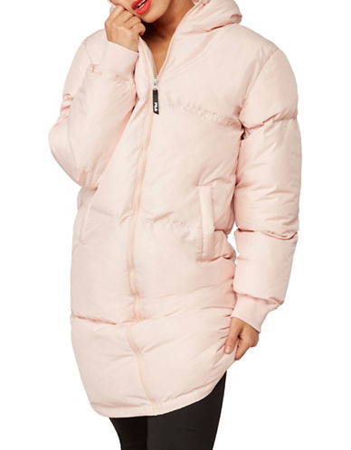 Fila Grace Puffer Jacket-BEIGE-Small