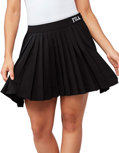 Fila Lauryn Tennis Skirt-BLACK-X-Large