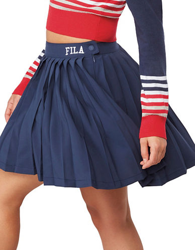 Fila Lauryn Tennis Skirt-NAVY-Medium