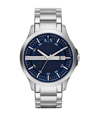 Armani Exchange AX2132 Mens Watch-SILVER-One Size