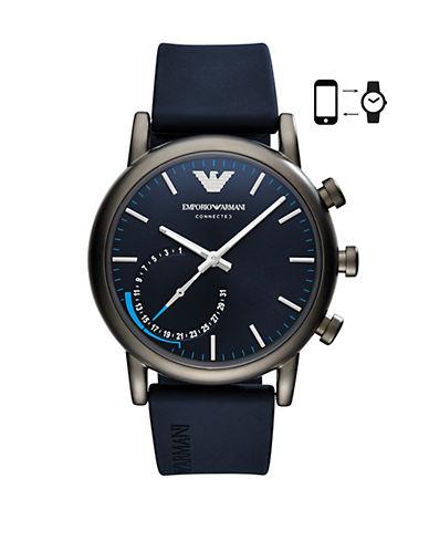 Emporio Armani SE1 ART3009  Luigi 43 Hybrid Smartwatch-BLUE-One Size