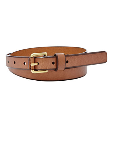 Fossil Explorer Belt-BROWN-Large