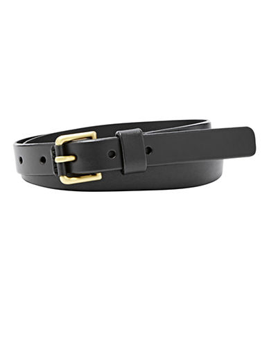 Fossil Explorer Belt-BLACK-Medium