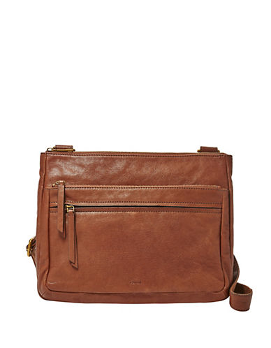 Fossil Corey Crossbody Bag-BROWN-One Size