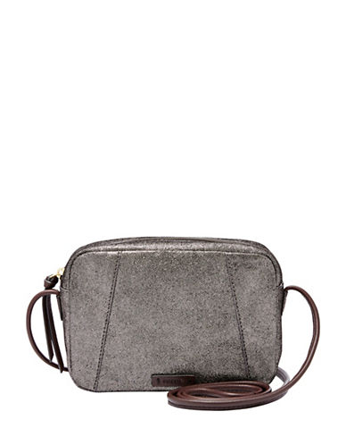 Fossil Rae Leather Crossbody Bag-MISCELLANEOUS-One Size