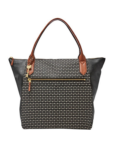 Fossil Fiona Tote-BLACK-One Size 89408541_BLACK_One Size