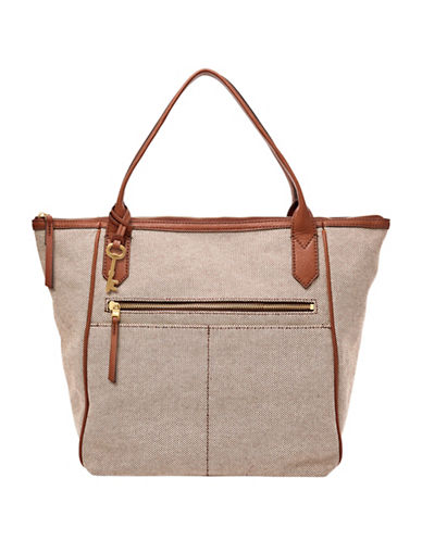 Fossil Fiona Tote-BEIGE-One Size