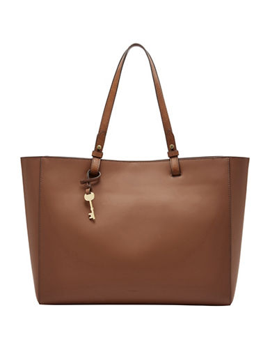 Fossil Rachel Work Tote-BROWN-One Size
