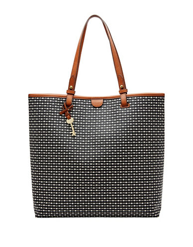 Fossil Rachel NS Tote-BLACK-One Size
