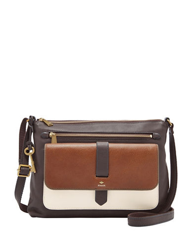 Fossil Kinley Crossbody Bag-NEUTRAL MULTI-One Size