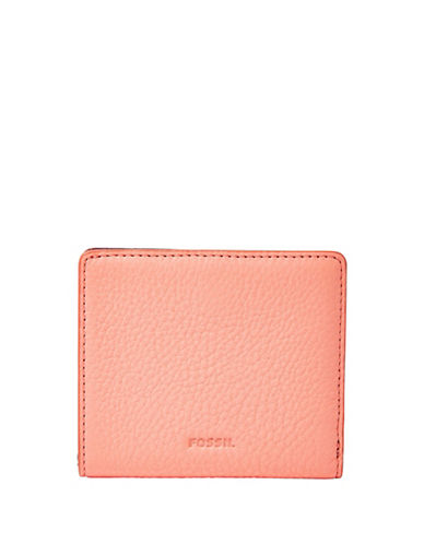 Fossil Emma Mini Wallet-PASTEL PINK-One Size