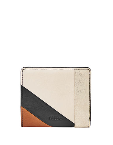 Fossil Emma Mini Wallet-NEUTRAL MULTI-One Size