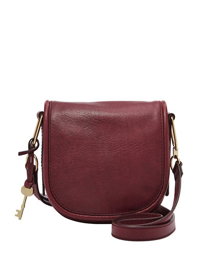 Fossil Rumi Small Crossbody Bag-CABERNET-One Size