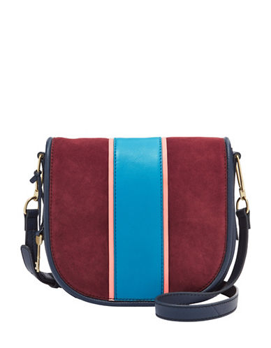 Fossil Rumi Crossbody Bag-RED-One Size