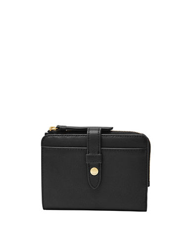 Fiona Multifunction Bi Fold Leather Wallet by Fossil