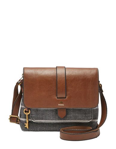 Fossil Small Kinley Crossbody-CHAMBRAY-One Size