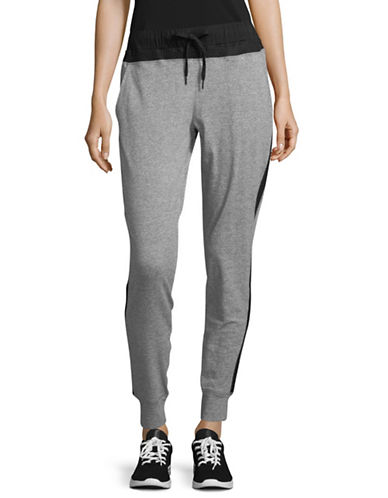 Sam Edelman Lightweight Jogger Pants-GREY-X-Large
