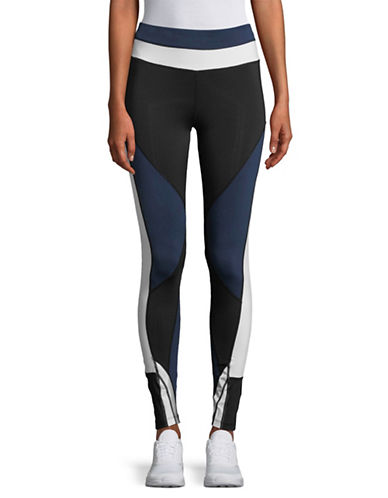 Sam Edelman Colourblocked Leggings-BLACK-Small 89598067_BLACK_Small