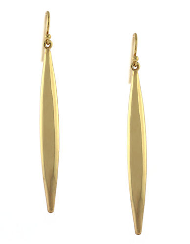 Vince Camuto Gold Linear Drop Earring-GOLD-One Size