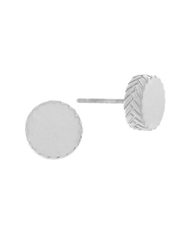 Cole Haan Disc Stud Earrings-SILVER-One Size
