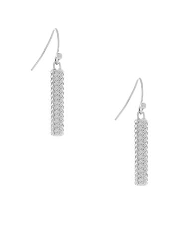 Cole Haan Linear Drop Earrings-SILVER-One Size