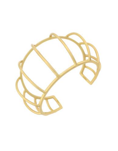 Botkier New York Caged Cuff Bracelet-GOLD-One Size