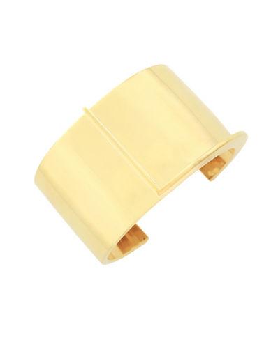 Botkier New York 4/25 Interlocking Cuff Bracelet-GOLD-One Size