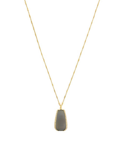 Cole Haan Catseye On You Pendant Necklace-GOLD-One Size