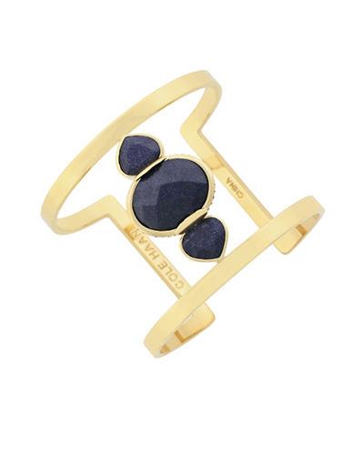 Cole Haan Garden At Midnight Statement T-Cuff Bracelet-GOLD-One Size