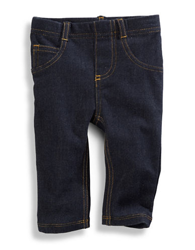 First Impressions Denim Leggings-BLUE-18 Months