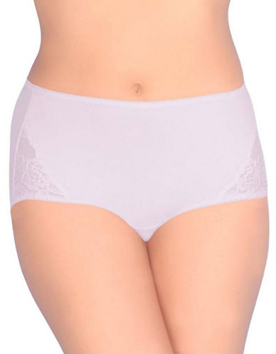 Jones New York Tummy Modern Brief-WHITE-XX-Large