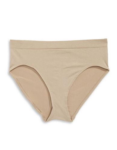 Jones New York Seamless High-Cut Panty-NUDE-Small