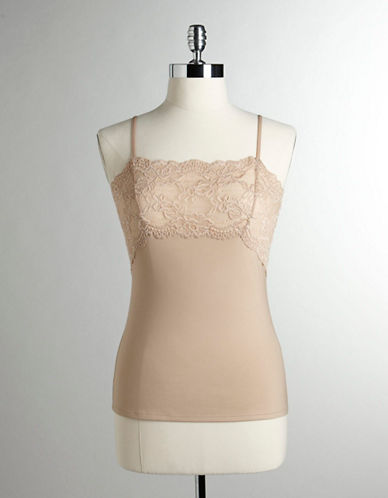 Jones New York Lace Front Panel Camisole-NUDE-Small 80521602_NUDE_Small