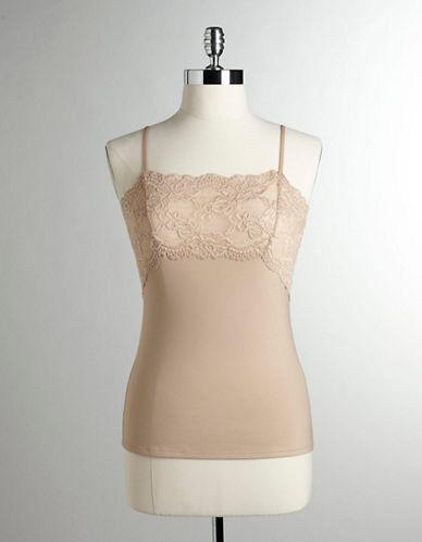 Jones New York Lace Front Panel Camisole-NUDE-Medium 80521636_NUDE_Medium