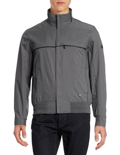 Boss Green Water-Repellent Jacket-GREY-Large 88397067_GREY_Large