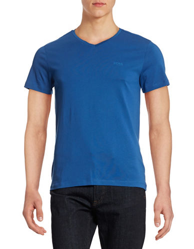 Boss Green C-Canistro Slim-Fit T-Shirt-BLUE-Large