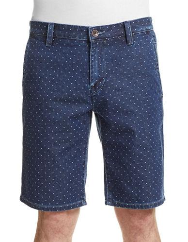 Boss Orange Dot Denim Shorts-BLUE-38