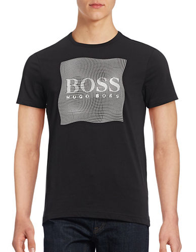 Boss Green Optical T-Shirt-BLACK-Medium