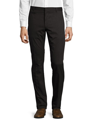 Hugo Harlyn Solid Dress Pants-BLACK-36