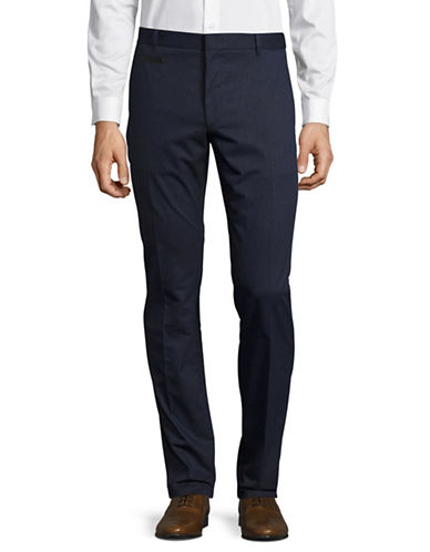 Hugo Harlyn Solid Dress Pants-NAVY-32