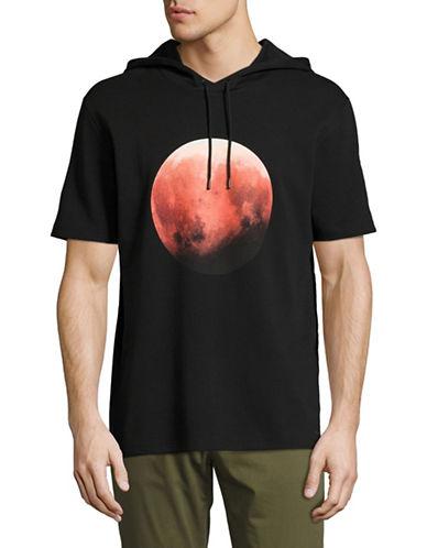 Hugo Doubletree Moon-Printed Hoodie-BLACK-Medium 89268720_BLACK_Medium