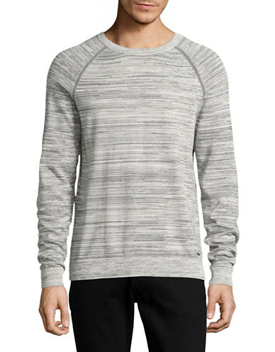 Hugo Srolon Knit Pullover-GREY-Medium
