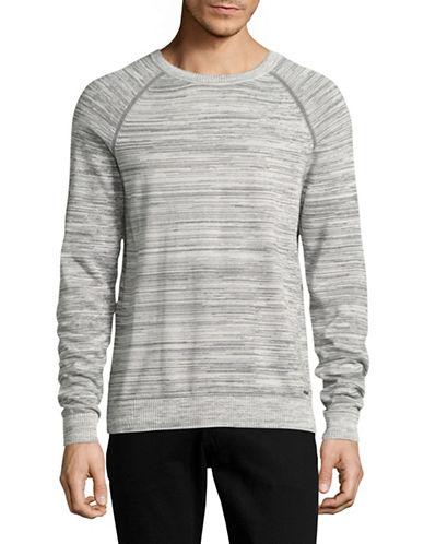 Hugo Srolon Knit Pullover-GREY-Large
