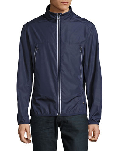 Boss Green Jounan Windbreaker Jacket-NAVY-X-Large