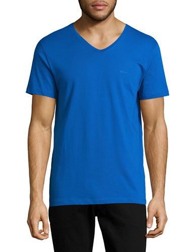 Boss Green C-Canistro Slim-Fit T-Shirt-DARK BLUE-Medium