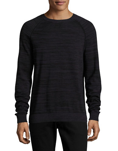 Hugo Srolon Knit Pullover-BLACK-X-Large