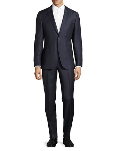 Hugo C-Jeys Virgin Wool Sports Jacket-NAVY-42
