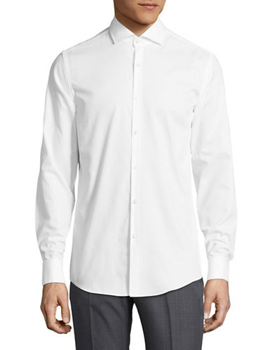 Hugo Jales Sport Shirt-WHITE-EU 41/US 16