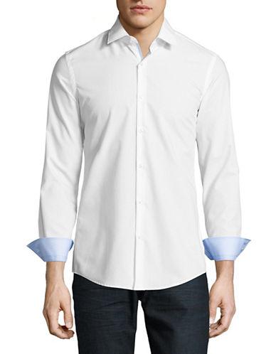 Hugo C-Joey Slim Fit Sport Shirt-WHITE-EU 46/US 18