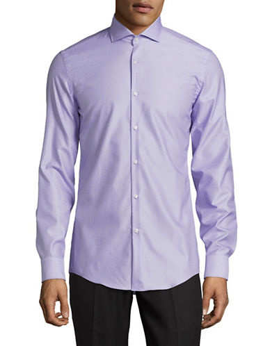 Hugo C-Jason Slim Fit Sport Shirt-PURPLE-EU 39/US 15.5